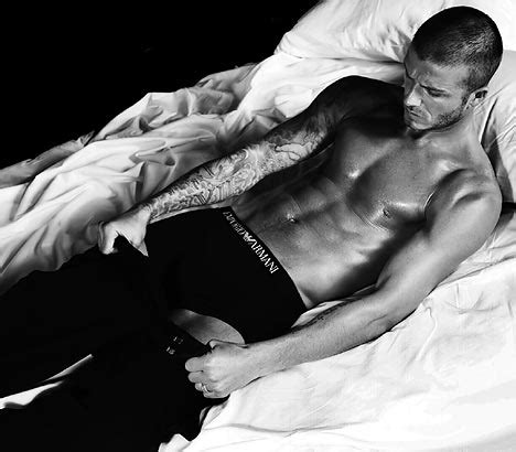 David Beckhams Armani Ad Revealed by David Beckham And The Mysterious Of The Disappearing