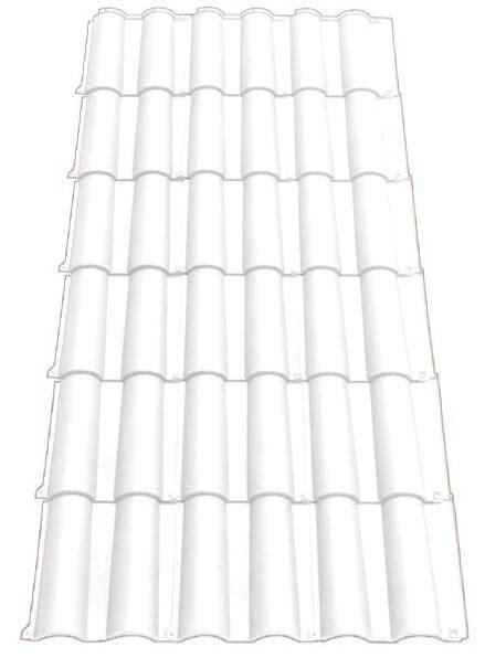 Tuile Transparente by Plaque Imitation Tuile Romane Semi Translucide