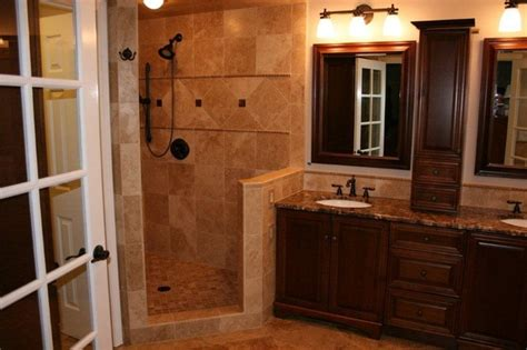cafe bathroom noce and cafe light travertine bathroom remodel