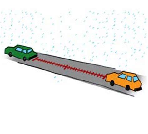distanza di sicurezza in caso di pioggia i consigli dell asaps per la guida con la pioggia e in