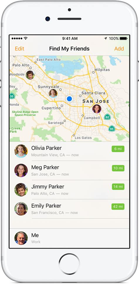 Find Location Your Location With Your Family Apple Support