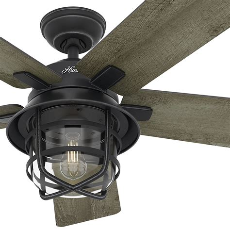 hunter contempo 54 ceiling fan hunter quot bayview provencal gold ceiling fan on high