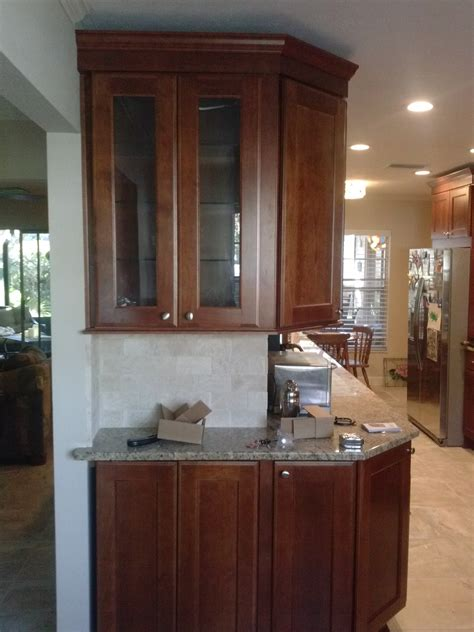 wrap around kitchen cabinets converting closed rooms into an open kitchen design