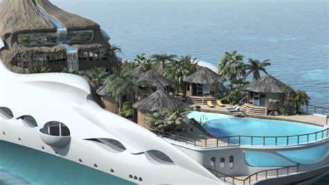 tropical island paradise yacht island designs tropical island paradise youtube