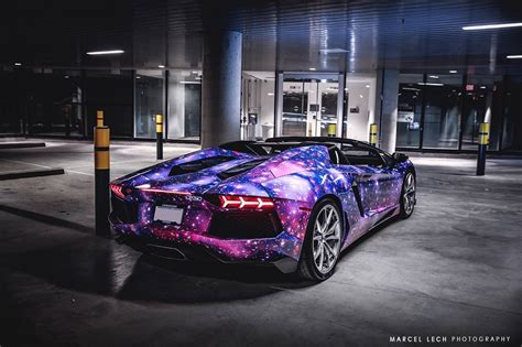 galaxy lamborghini galaxy themed lamborghini aventador roadster from canada