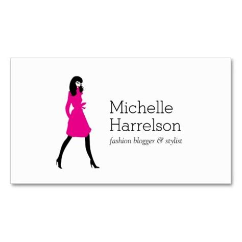 Fashion Consultant Business Cards Free Templates by Glam Fashion Style Business Card