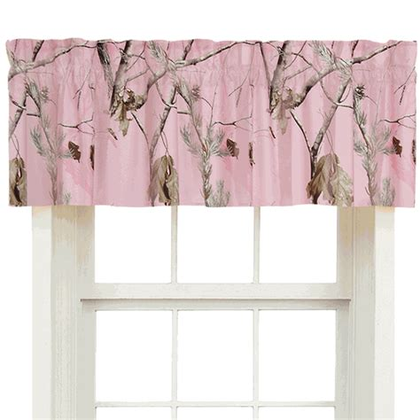 pink realtree camo curtains pink camouflage curtains realtree ap pink valance camo