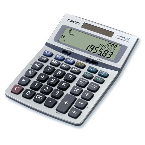 Calculatrice De Bureau Casio Df 320tm Calculatrice De Bureau Calculatrice