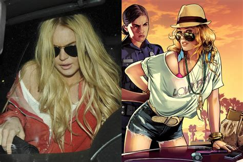 lindsay lohan vs gta 5 rockstar games says lindsay lohan sued for attention