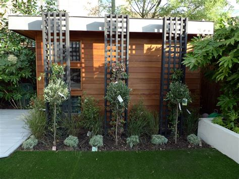 Contemporary Trellis Ideas uye home modern garden design
