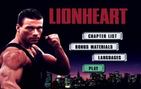 lionheart film lionheart 1990 dvd movie menus