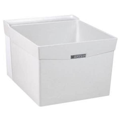 fiberglass bathtubs home depot mustee utilatub 20 in x 24 in fiberglass wall mount