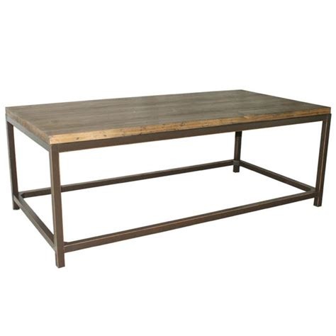wood coffee table metal legs interior exterior doors