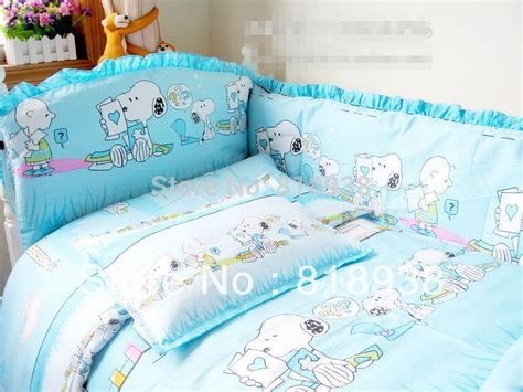 Peanuts Crib Bedding Get Cheap Snoopy Baby Bedding Crib Sets Aliexpress Alibaba
