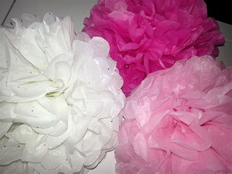 Flowers Out Of Tissue Paper - tea our large tissue paper flowers cut 2 out of a