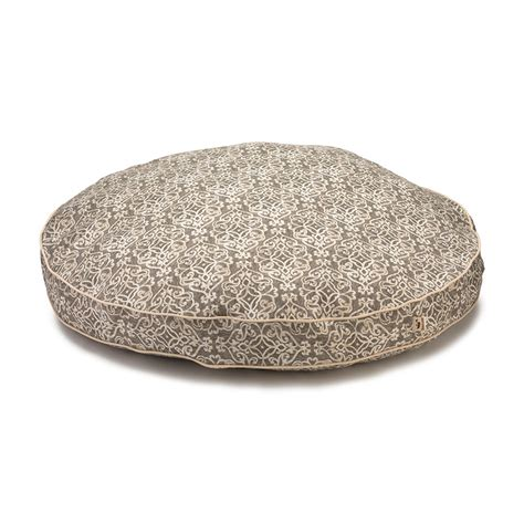 round dog bed cover replacement cover snoozer pool patio round dog bed indoor outdoor bed