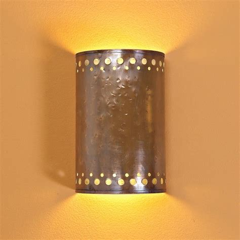 Copper Wall Sconce Hammered Copper Indoor Wall Sconce Wall Sconces By Shades Of Light