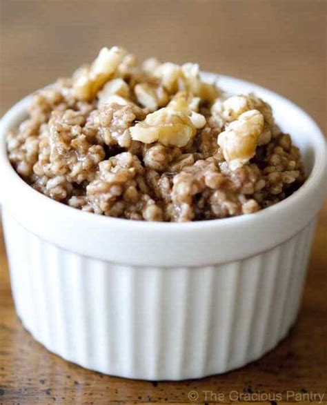Gracious Pantry by Clean Gingerbread Oatmeal Recipe The Gracious Pantry
