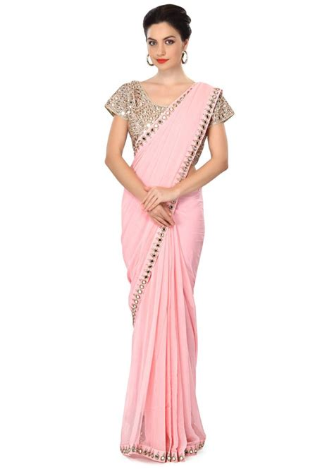 Pink Saree 17 best images about indian wear on blouse