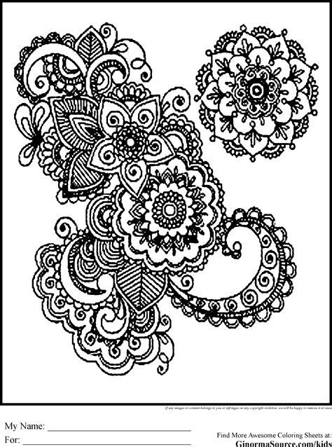 Coloring Pages For Adults Advanced Coloring Pages Free Printable Advanced Coloring Pages