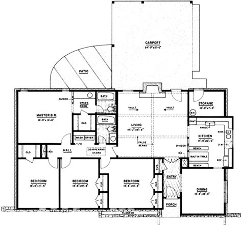 monster house floor plans ranch style house plans 1755 square foot home 1 story
