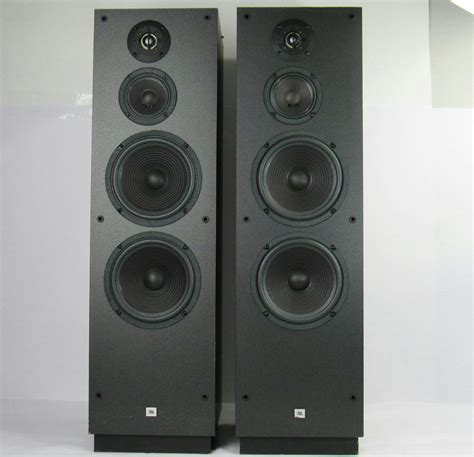 jbl g500 floor standing tower speakers w grills fully