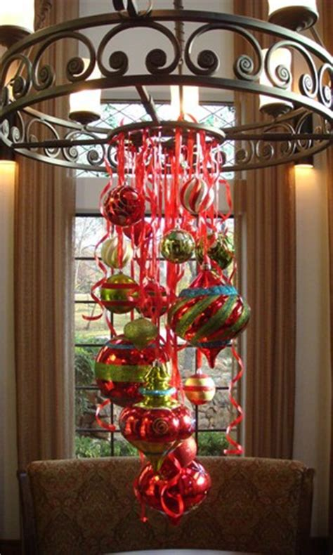 Christmas Ball Chandelier It S Written On The Wall See 7 Different Christmas