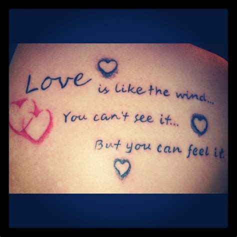 tattoo love quotes quote tattoos is