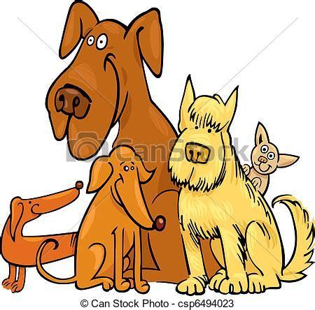 clipart divertenti divertente cinque cani divertente cinque cartone