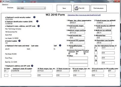 W2 Office by How To Fill Out And Print W2 Forms