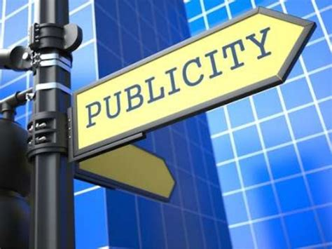 Is It All For Publicity by Publicity Relations Personal Selling Imc