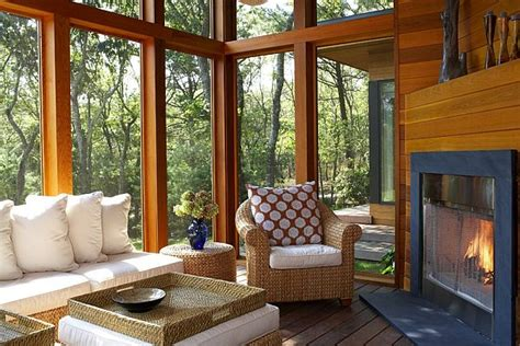 Wooden Sun Room Sunroom Design Ideas
