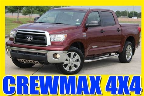 auto air conditioning service 2010 toyota tundramax seat position control purchase used 2010 toyota tundra 5 7l v8 crew max 4x4 flexfuel one tx owner tonneau cover in