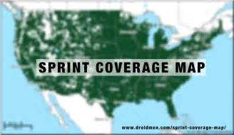 sprint coverage map a complete guide