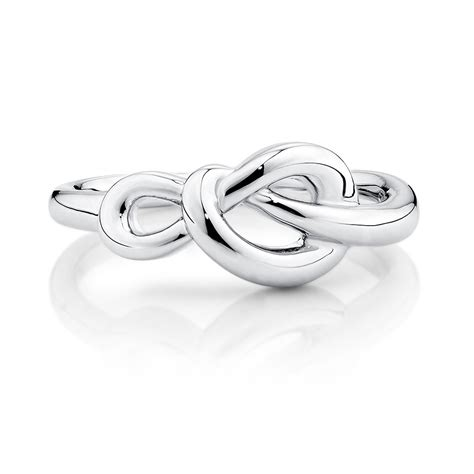 Sterling Silver Knot Ring knot ring in sterling silver
