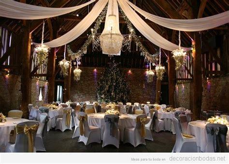 decorar un salon para boda c 243 mo decorar una boda en navidad decoraci 243 n bodas