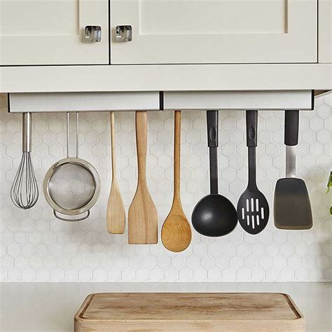 Cabinet Utensil Rack by Umbra Cabinet Utensil Holder In Kitchen Utensil Holders