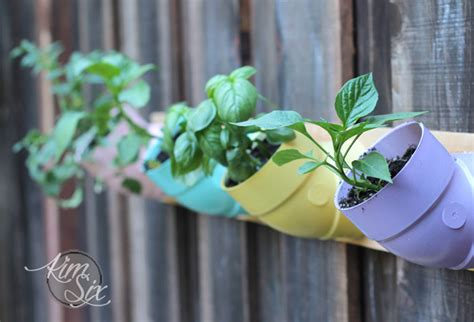 pvc pipe planter pvc pipe vertical garden the six fix