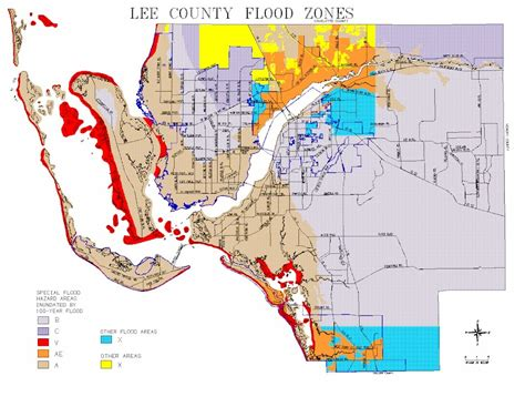 county florida flood zone map map of county flood zones