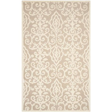 martha stewart living rugs martha stewart living layered faux bois potter s clay 5 ft x 8 ft area rug msr4534b 5 the