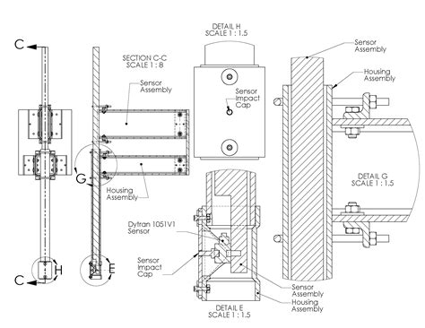 section view drawing mechanical design computer aided design cad david