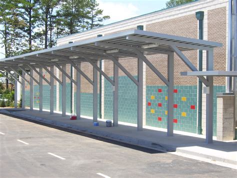 cantilever awning cantilevered aluminum canopies gallery mitchell metals