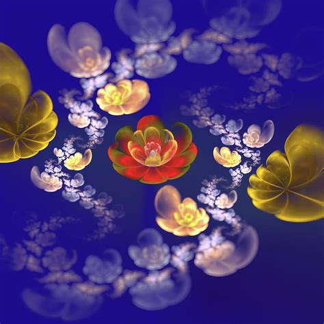 Larissa Flower Big flower mood digital by larissa davydova