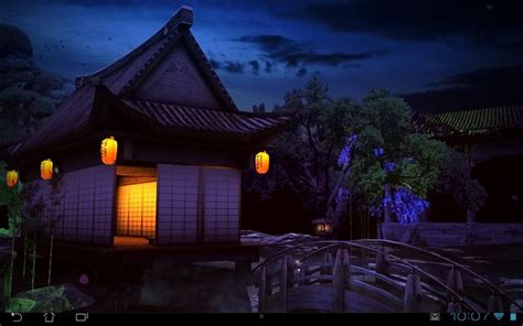 Dining Room Sets Dallas by Japanese Garden At Night