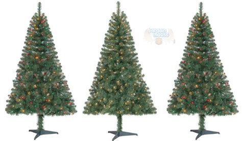 walmart canada 6 pre lit christmas trees only 20