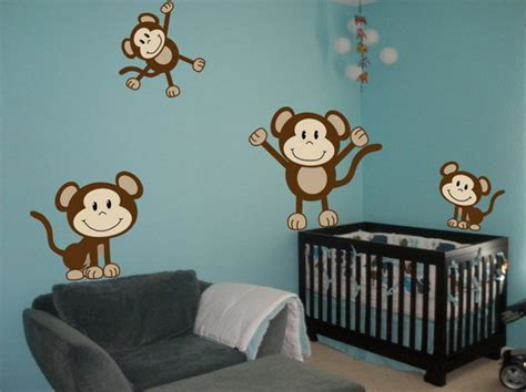 Monkey Nursery Decor Monkey Baby Room Decor Home Decorating Ideas
