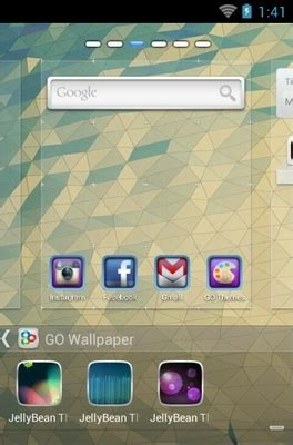 themes for android jelly bean jelly bean android theme for go launcher androidlooks com