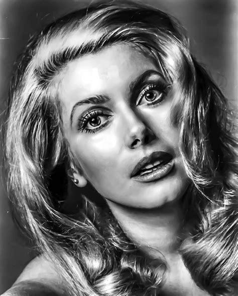 hollywood actress catherine free photo catherine deneuve portrait free image on