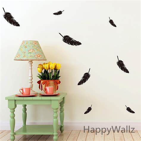popular stickers graphics buy cheap stickers graphics lots feather wall sticker popular items for feather wall