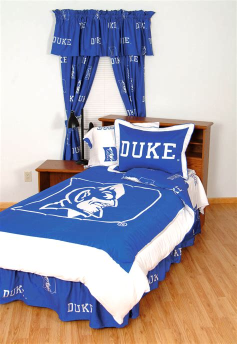 duke comforter set ncaa duke blue devils comforter sham set collegiate team